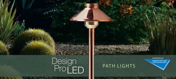 design pro Led path lights